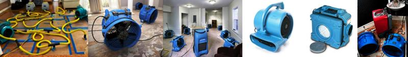 Water Damage  Equipment Rental