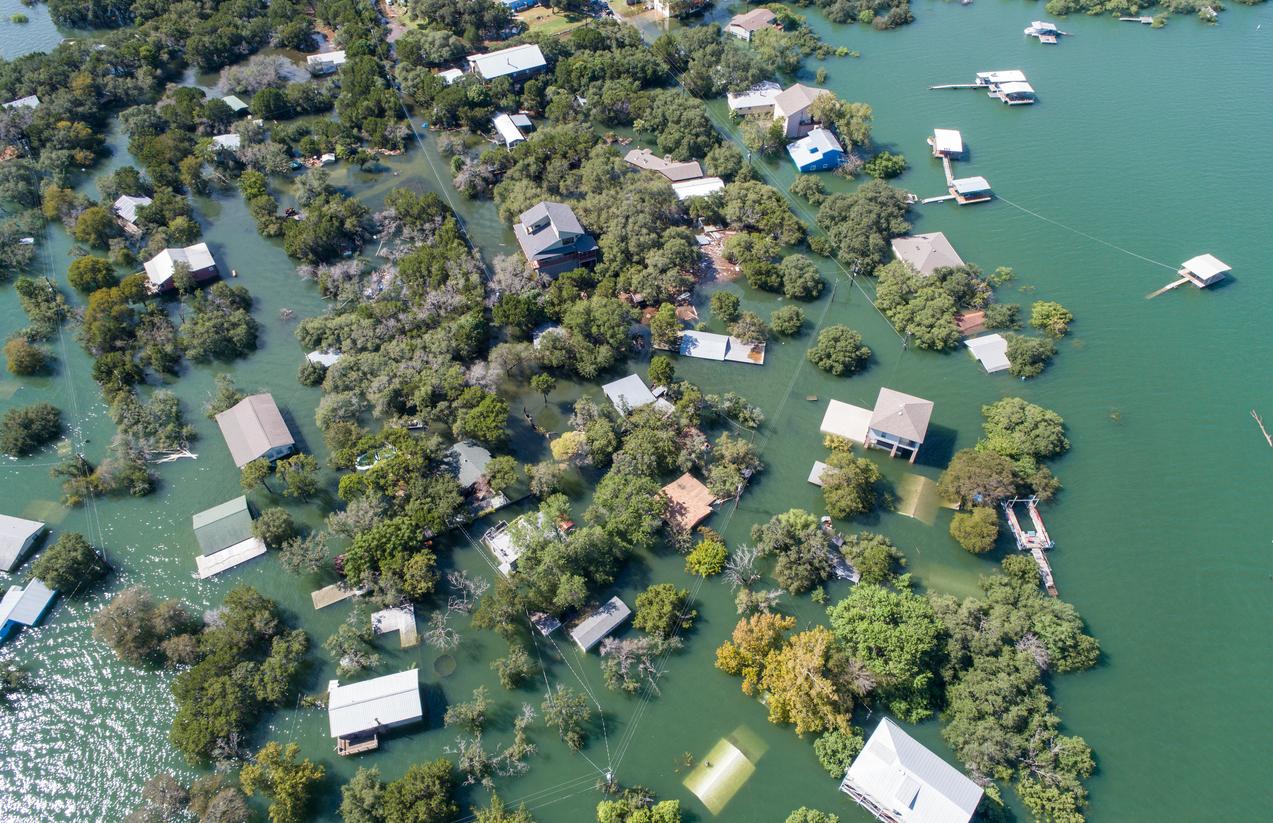 Floodplain water restoration